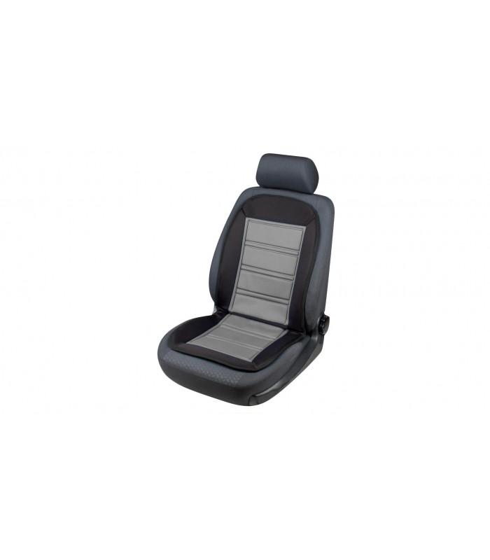 Walser autopoťah sedadla vyhrievaný  Warm Up šedo čierny