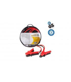4 CARS Premium Štartovací kábel - DIN 72553 izolované kliešte, hrúbka 25.0MM², 3,5metra