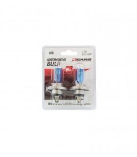 4CARS 12V H4 60/55W Xenon Mega White 2ks (double blister)