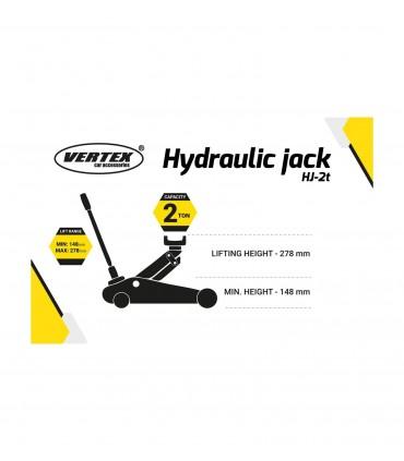 Vertex Hydraulický zdvihák na kolieskach HJ-2t