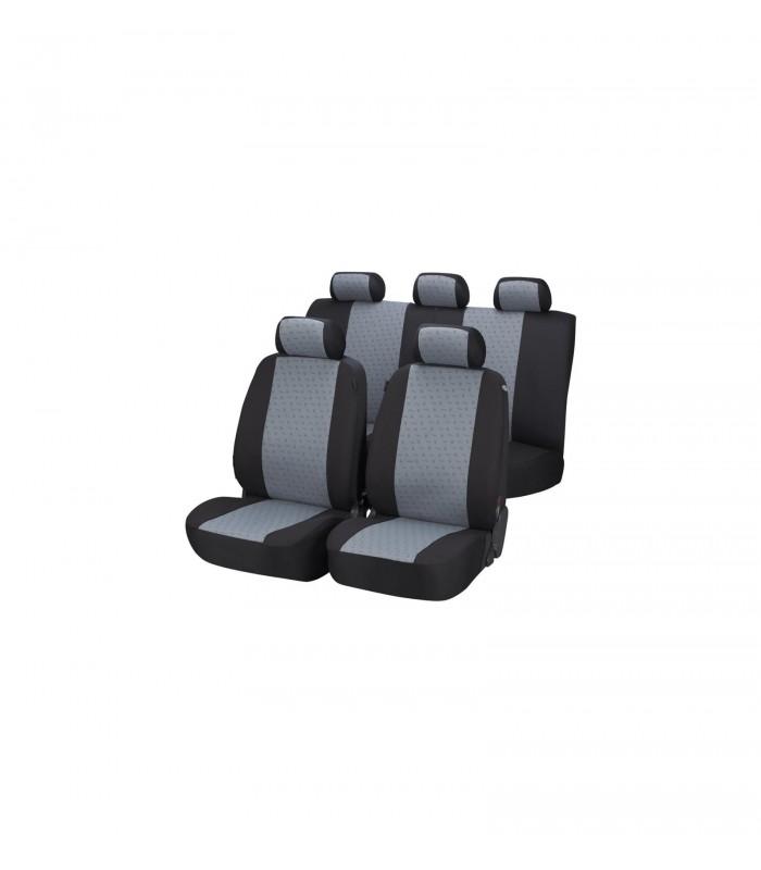 Walser Autopoťah Positano čierno-sivy 4 sedadlá