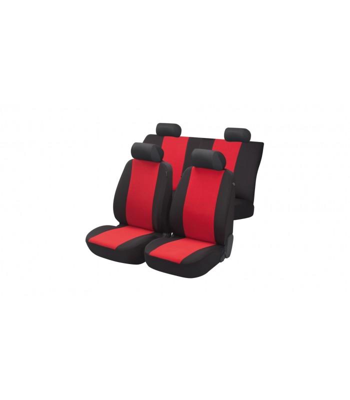 Walser  autopoťahy Flash 5ks - červeno čierne