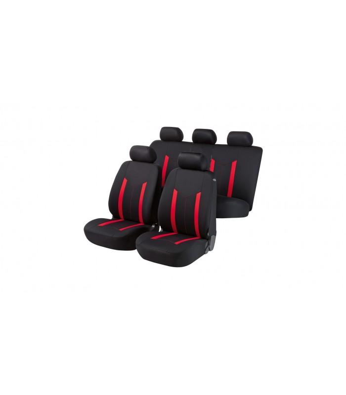 Walser autopoťahy  Hastings 5ks - červeno čierne