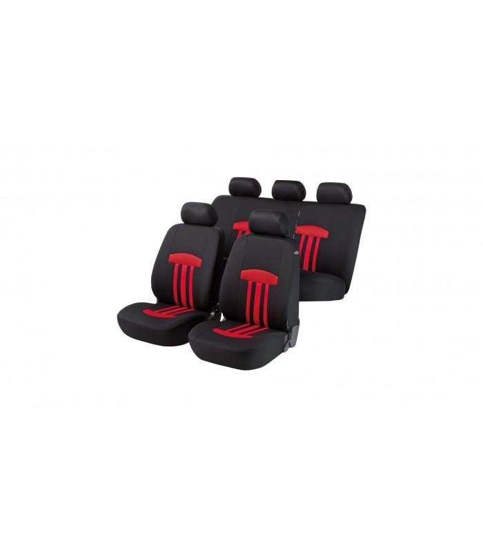 Walser autopoťahy  Kent 5ks - červeno čierne