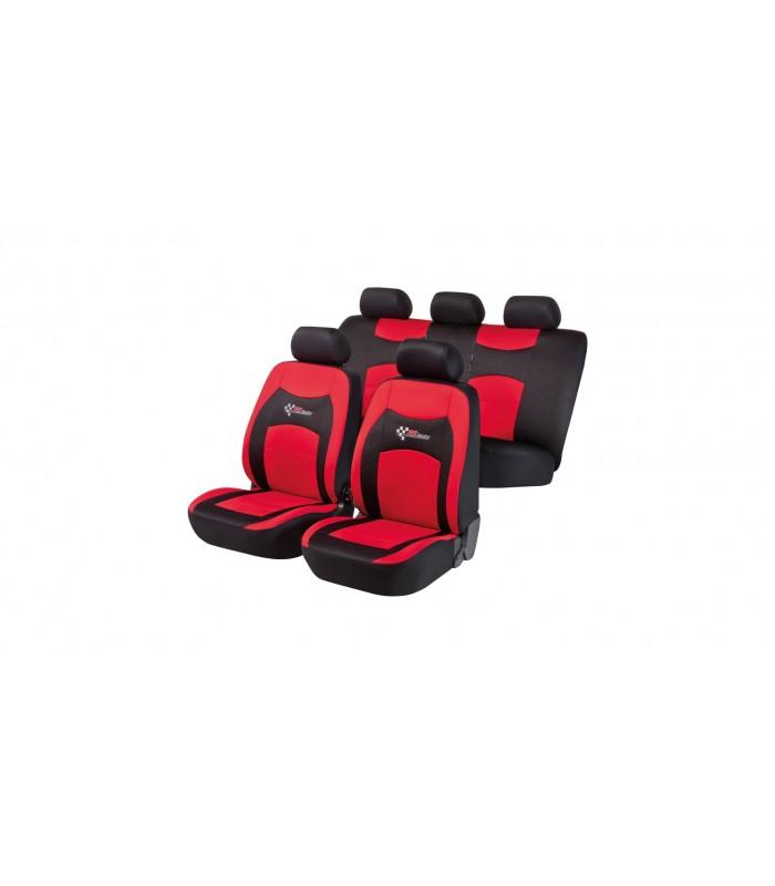 Walser autopoťahy RS Racing 5ks - červeno čierne