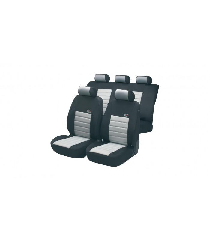 Walser autopoťahy SportSpeed Zipp-It 5ks - šedo čierne