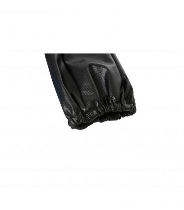 4CARS Poťah na tyč rýchlostnej páky carbon pravá koža čierny