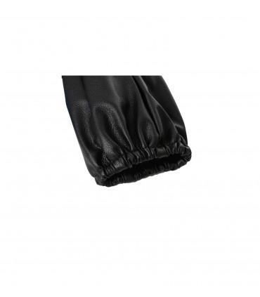4CARS Poťah na tyč rýchlostnej páky pravá koža čierny
