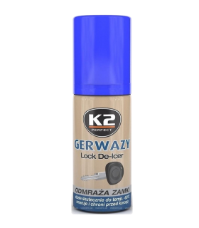K2 Rozmrazovač zámkov GERWAZY 50ml