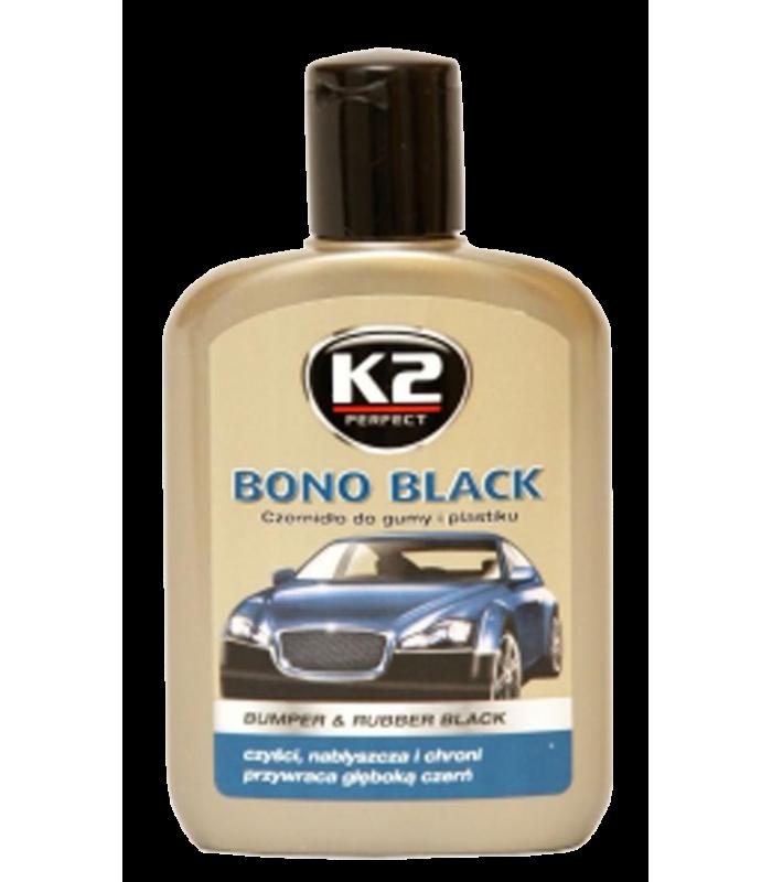 K2 Čiernidlo- leštenka na plasty Bono Black 200 ml