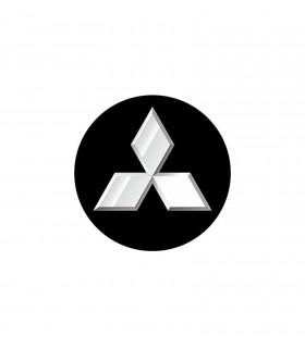 4CARS 3D CAR LOGO MITSUBISHI
