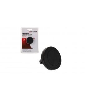 4CARS Magnetický držiak telefónu pre vetracie otvory čierny