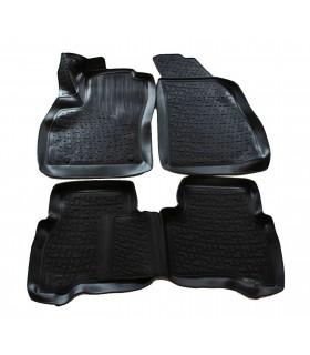 J&J Gumové rohože so zvýšeným okrajom Fiat Fiorino III 2007-