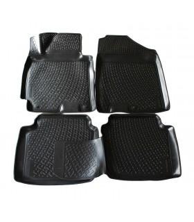 J&J Gumové rohože so zvýšeným okrajom Hyundai Elantra 2011- 4ks