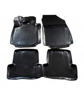 J&J Gumové rohože so zvýšeným okrajom Renault Clio IV 2012- 4ks