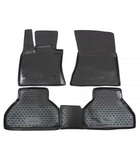 J&J Gumové rohože so zvýšeným okrajom BMW X5 E70 2007-2012 4ks